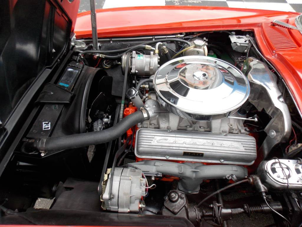 1963 SWC Riverside red/black 340 hp AC SOLD !!