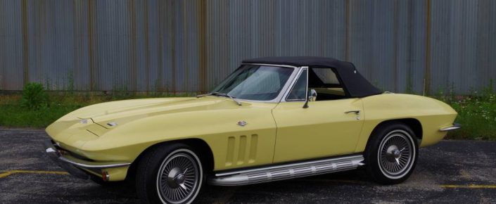 1966 Corvette CV 2 Tops Yellow/Black