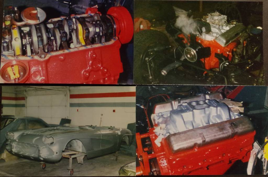 1962 Sateen Silver/red 327/340 hp both tops SOLD !!!