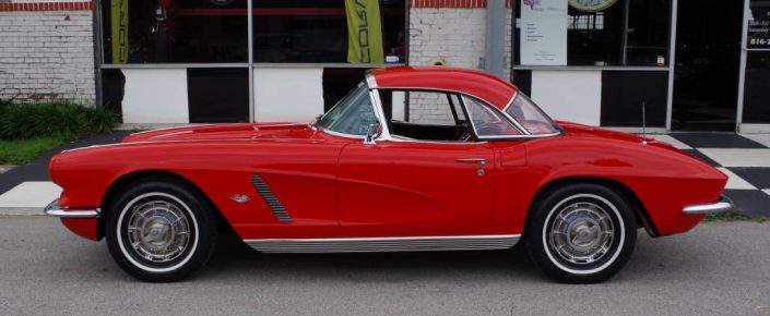 1962 Roman Red/black 327/340 hp #'s  NCRS TF