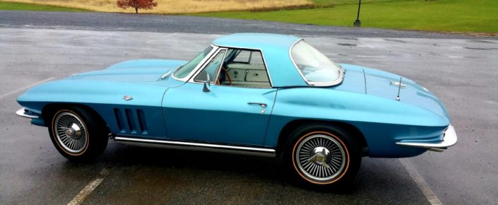 1965 Chevrolet Corvette – Nassau Blue/White – 327/300HP CV