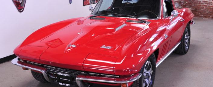 1966 Chevrolet Corvette Coupe – Red/black – 427