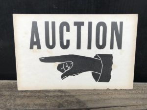 Auction Season Rolls On …