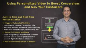 Using Personalized Video to Boost Conversions