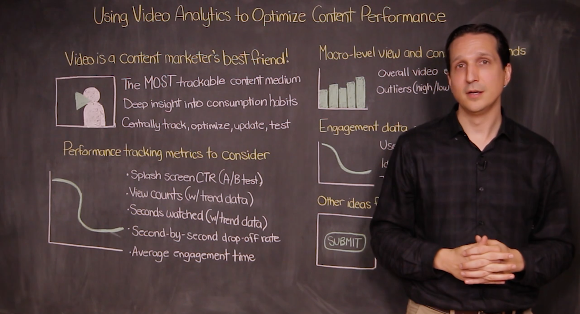 Using Video Analytics to Optimize Content Performance – Vidyard Chalk Talks