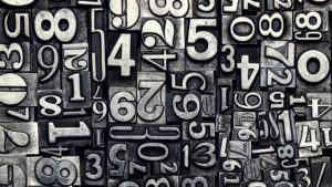 numbers are a key part of video analytics