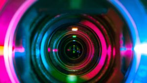 camera lens used for video marketing