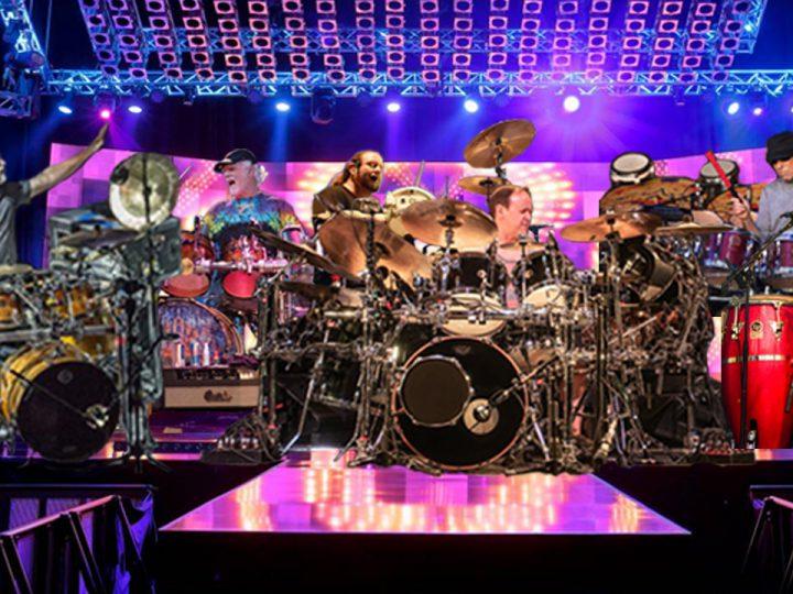 """Hart, Kreutzmann, Fishman, Hann, Travis, Trucks, and  Ortiz Join Forces For """"Just Drums Tour"""""""