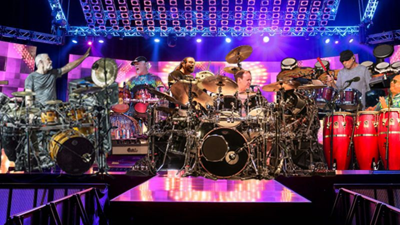 "Hart, Kreutzmann, Fishman, Hann, Travis, Trucks, and  Ortiz Join Forces For ""Just Drums Tour"""