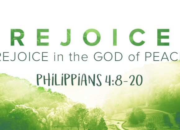 Rejoice in the God of Peace