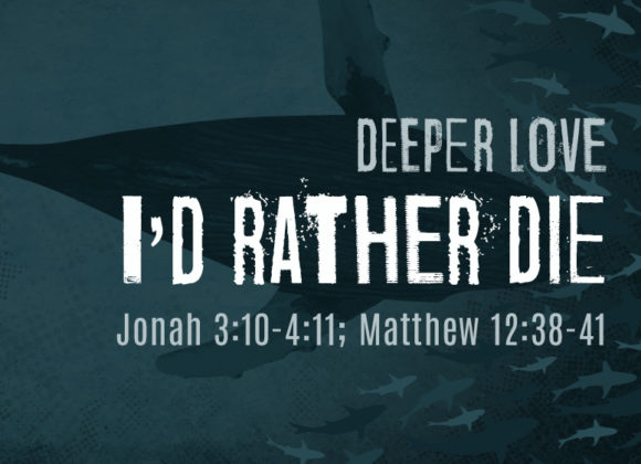 DEEPER LOVE: I'd Rather Die