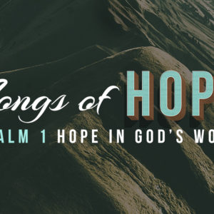 Hope in God's Word (July 1)