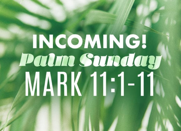 Palm Sunday (April 14)