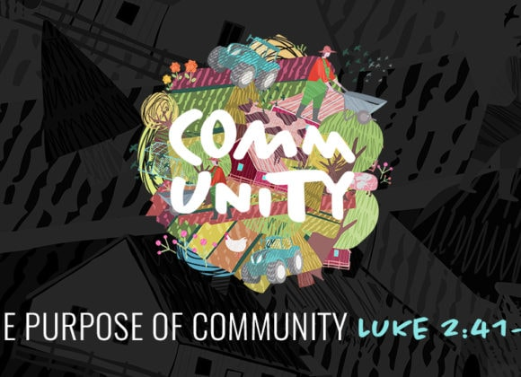 The Purpose of Community (August 11)
