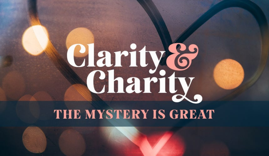 The Mystery is Great (January 19)