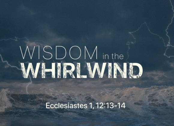 Wisdom in the Whirlwind