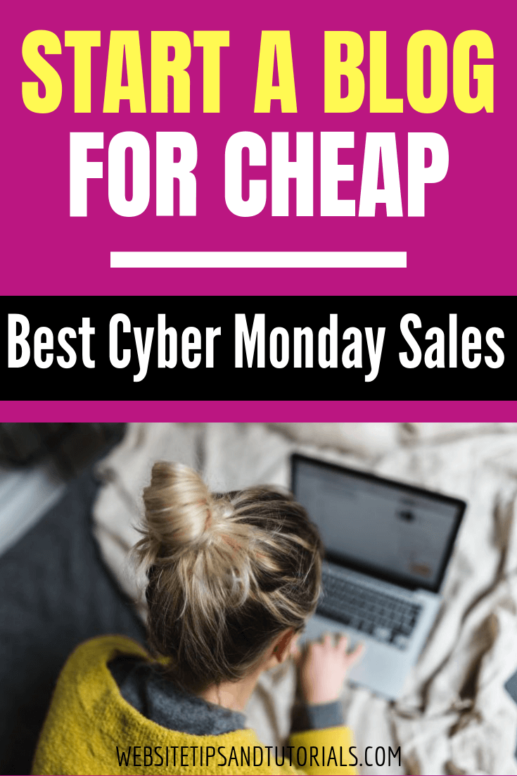 Cyber Monday is a great times to get great deals for Christmas gifts for family & friends – you can get a good deal for yourself so you can start your own blog or website! There's lots of web hosts that are offering great Cyber Monday sales, so if you've always wanted to start your own blog & make money or make a website for a business you've always wanted to start, now's the time time! You can get free months, up to 67% off plans, etc. #CyberMonday #earnmoneyonline