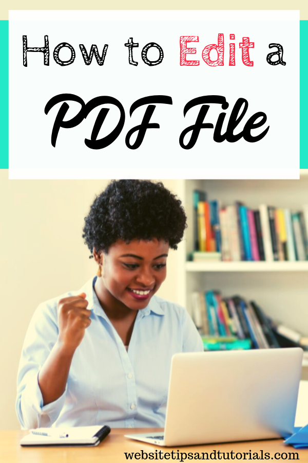 Have you ever wondered how to edit a PDF file? Do you do affiliate marketing & want to change your media kit? Need to make signature or fill out a form? Whatever the reason, we go over 2 ways of how to easily do it