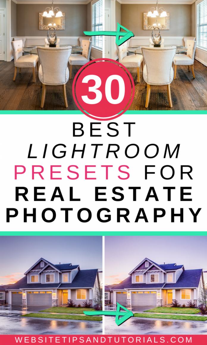 best lightroom presets for real estate photography