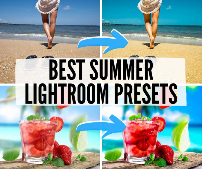 best summer lightroom presets for mobile and desktop
