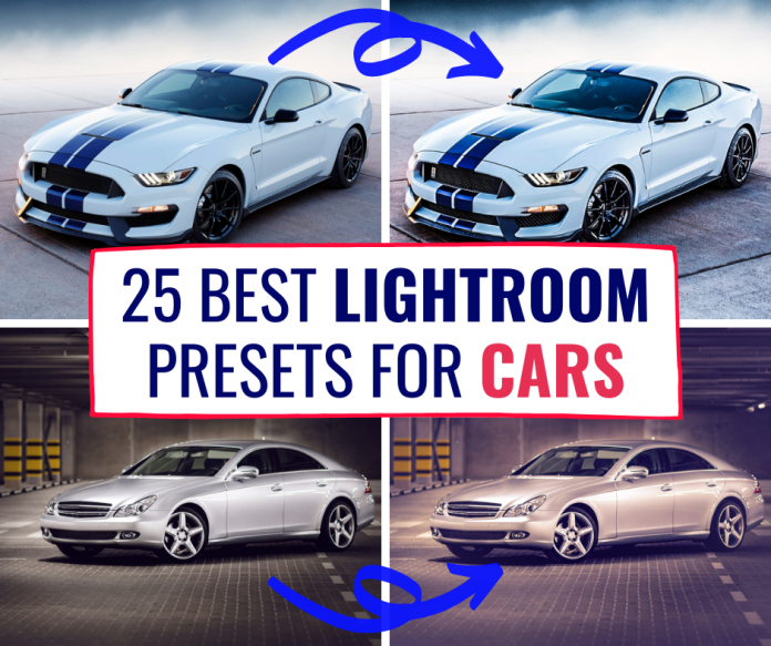 25 best Lightroom presets for cars mobile and desktop