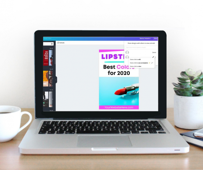 making a Pinterest template for a subscription business