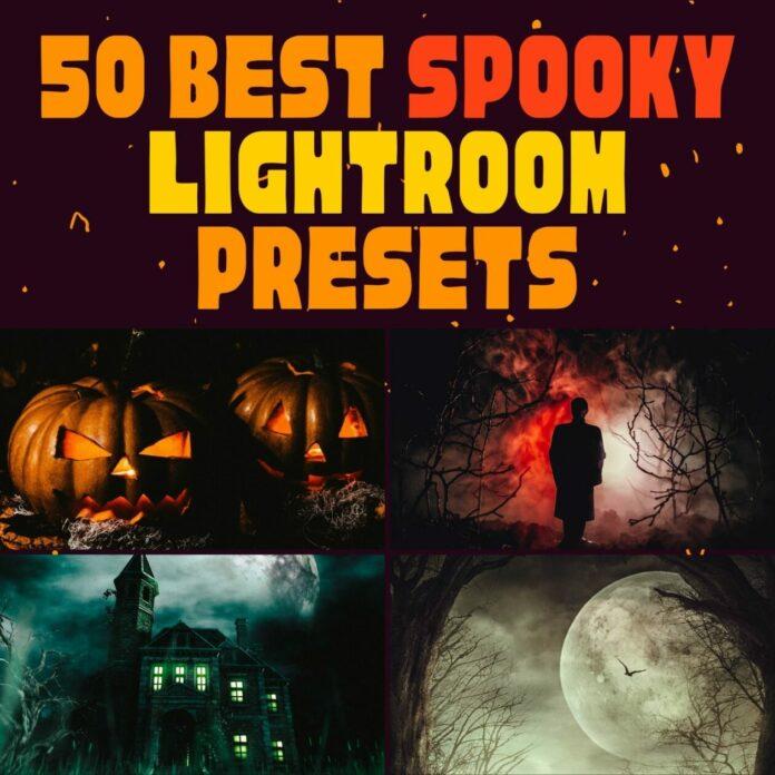 50 Best Spooky Lightroom Presets for Mobile & Desktop