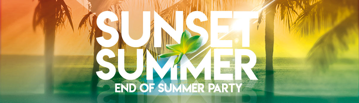 Sunset Summer - End of Summer Party