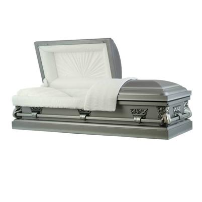 basic casket - antique pewter