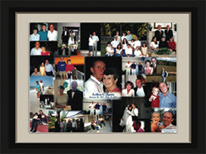 Life Celebration photo collage
