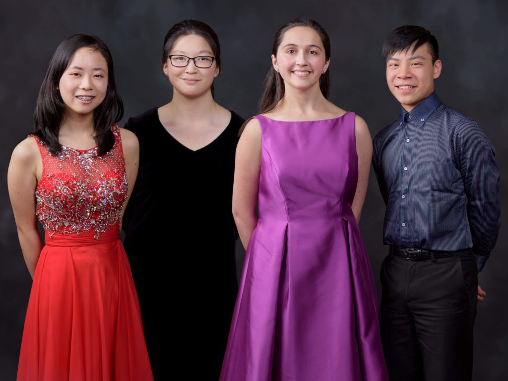 Group photo of the 2019 Final Forte finalists