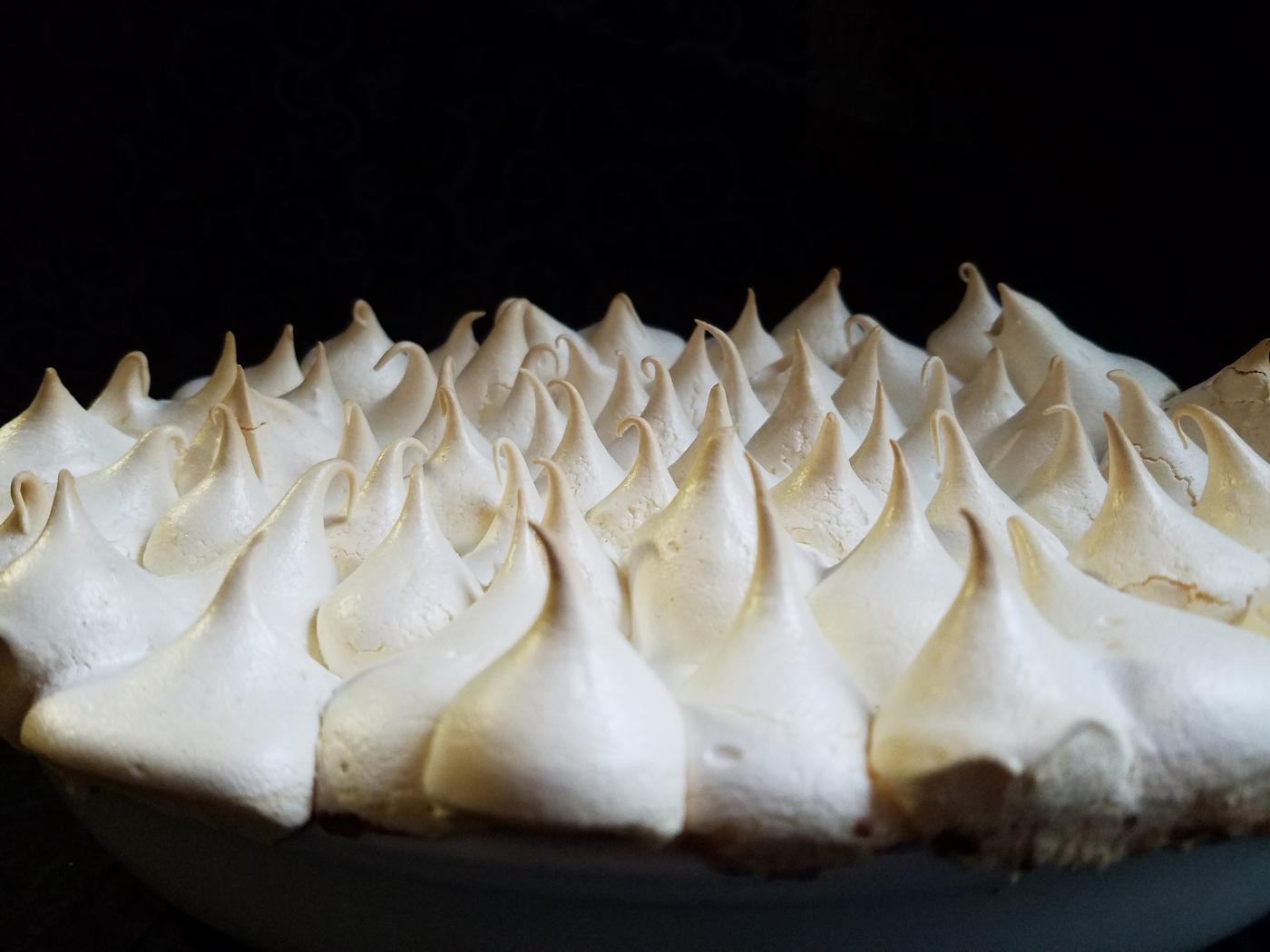 Barbie's Queen of Puddings features piped peaks of meringue