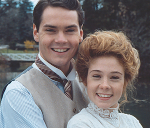 Anne and Gilbert, from Anne of Green Gables: The Sequel