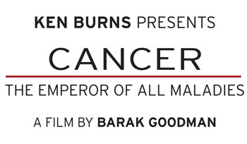 Ken Burns presents Cancer The Emperor of All Maladies logo