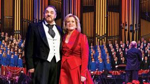 Deborah Voigt and John Rhys-Davies