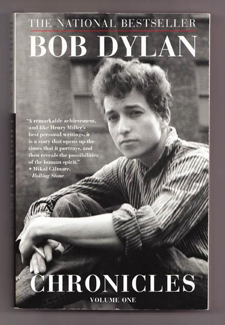 Cover image of Bob Dylan's memoir Chronicles: Volume One