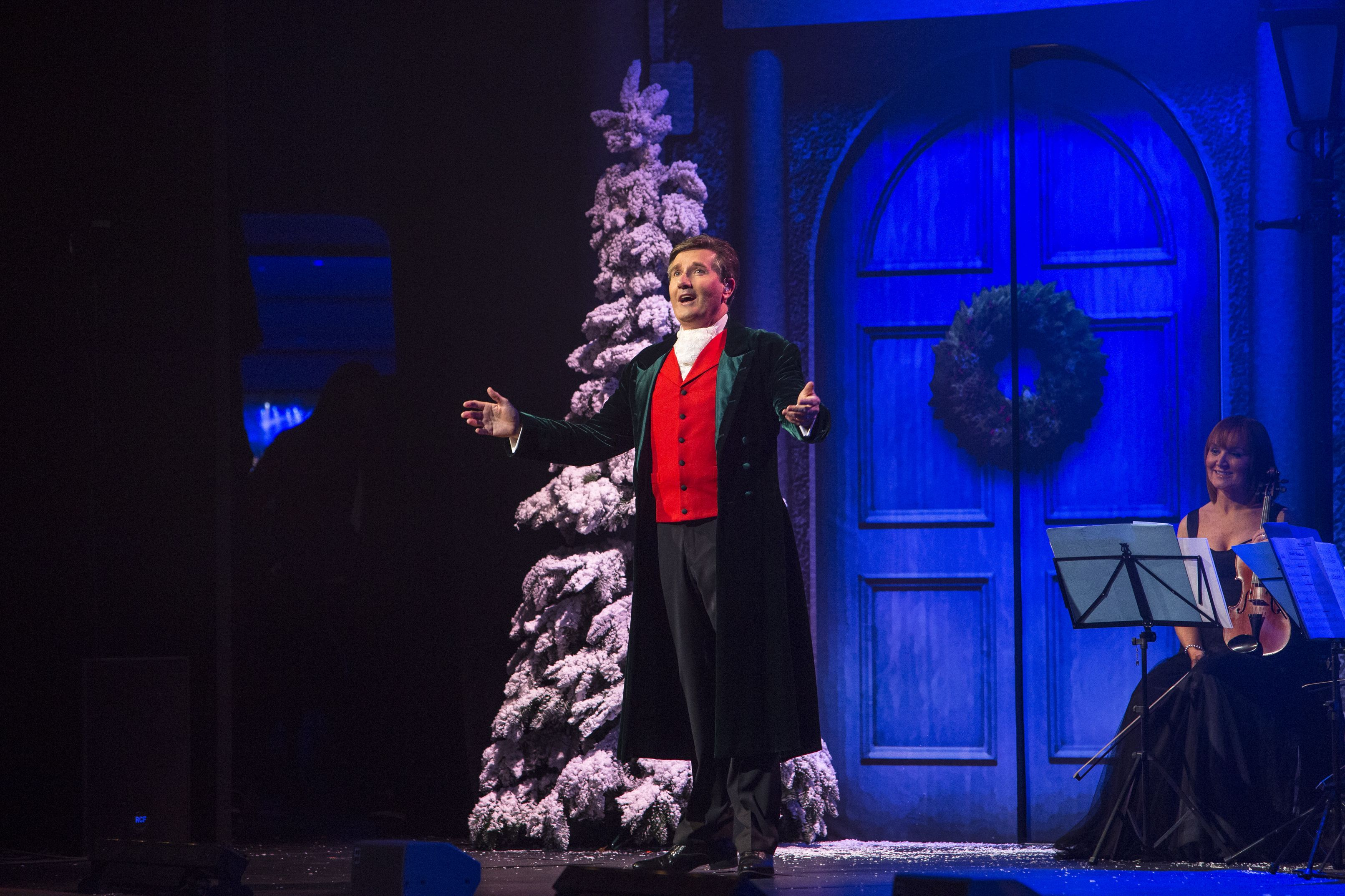 """Join Daniel O'Donnell and special guests for a winter wonderland of yuletide carols and seasonal favorites. """"Christmas With Daniel O'Donnell"""" premieres 7 p.m. Tuesday, Dec. 5 on WPT."""