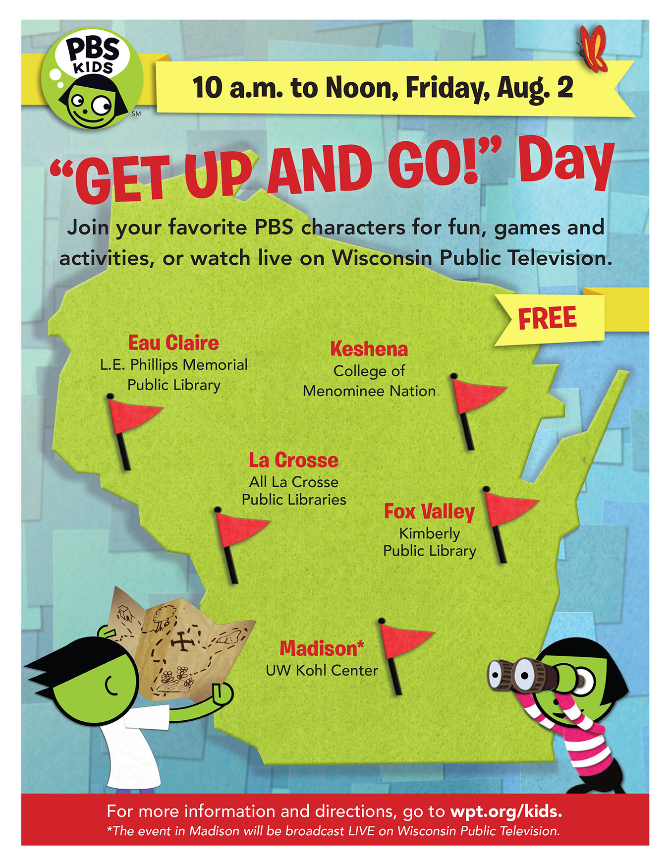 Get Up and Go Archives - Wisconsin Public Television