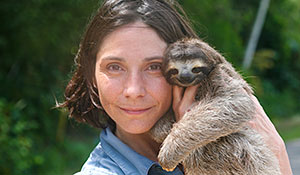 Image from A Sloth Named Velcro