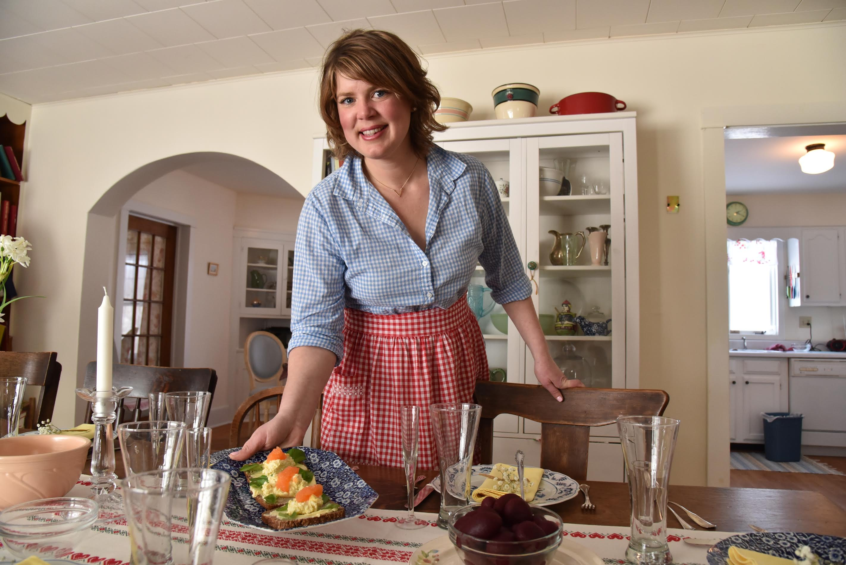 Inga Witscher, host of Around the Farm Table