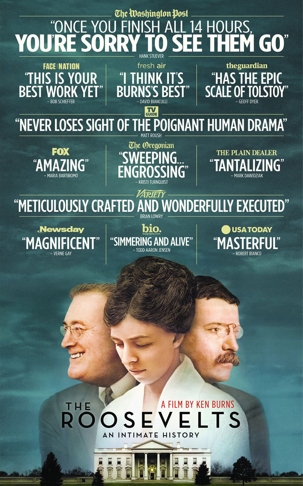The critics praise for The Roosevelts