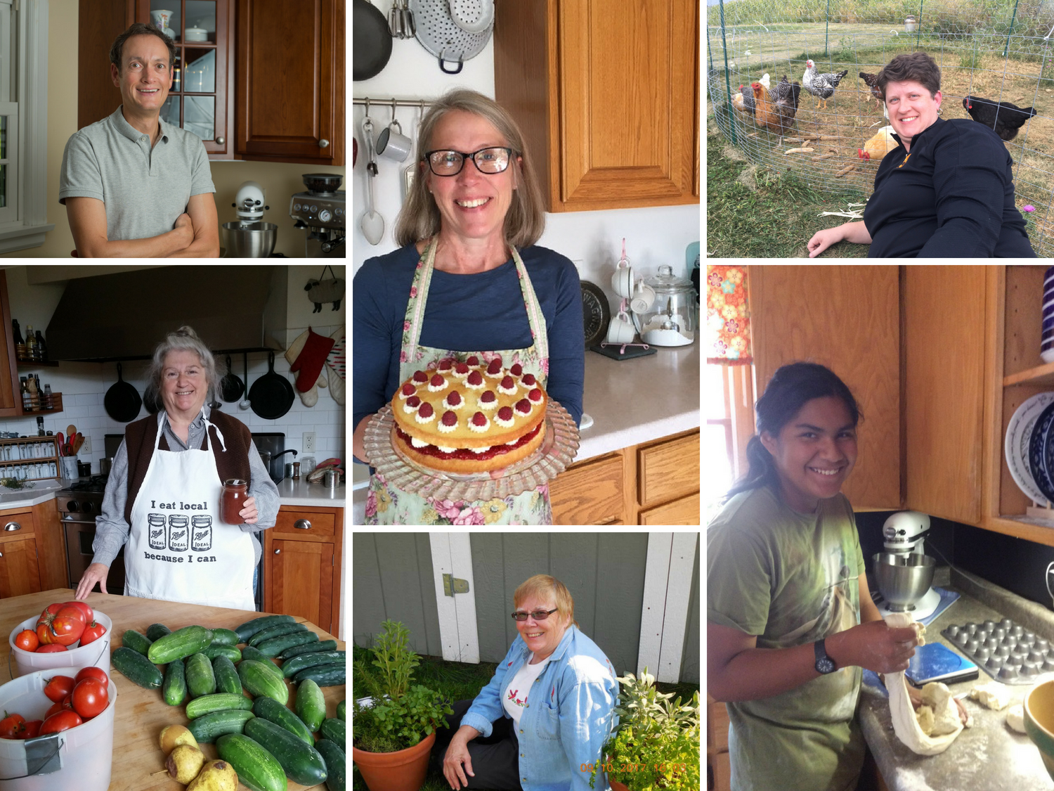 """A few of our 2017 """"Star Bakers,"""" who completed all 10 challenges throughout last year's Challenge!"""