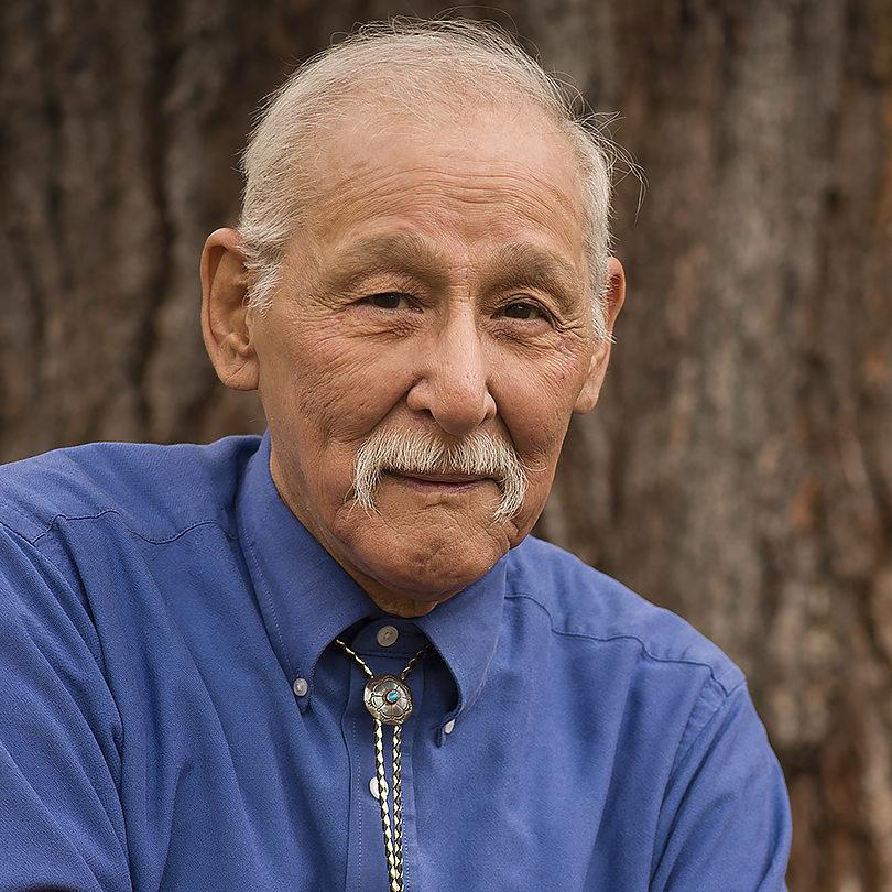 Fred Ackley, of the Mole Lake Ojibwe