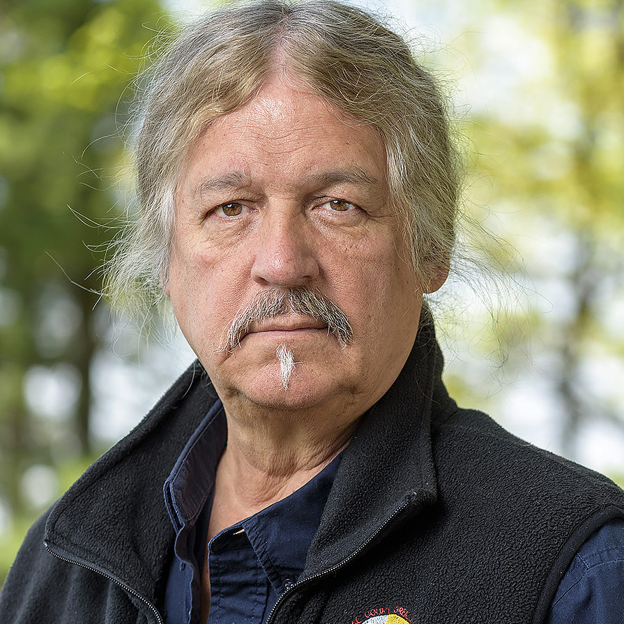 Rick St. Germaine, of the Lac Courte Oreilles Ojibwe