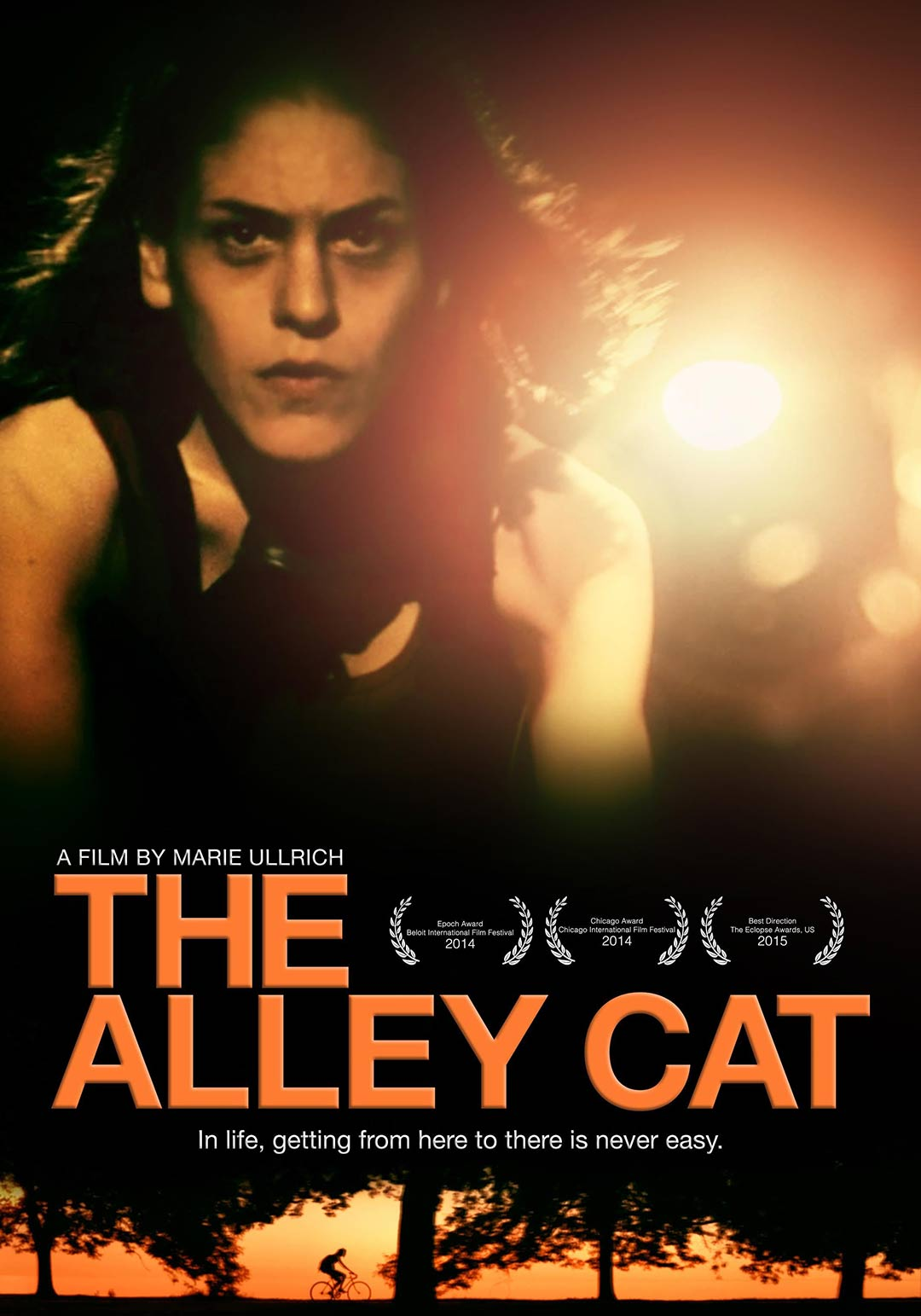 Poster for the film The Alley Cat (2016)