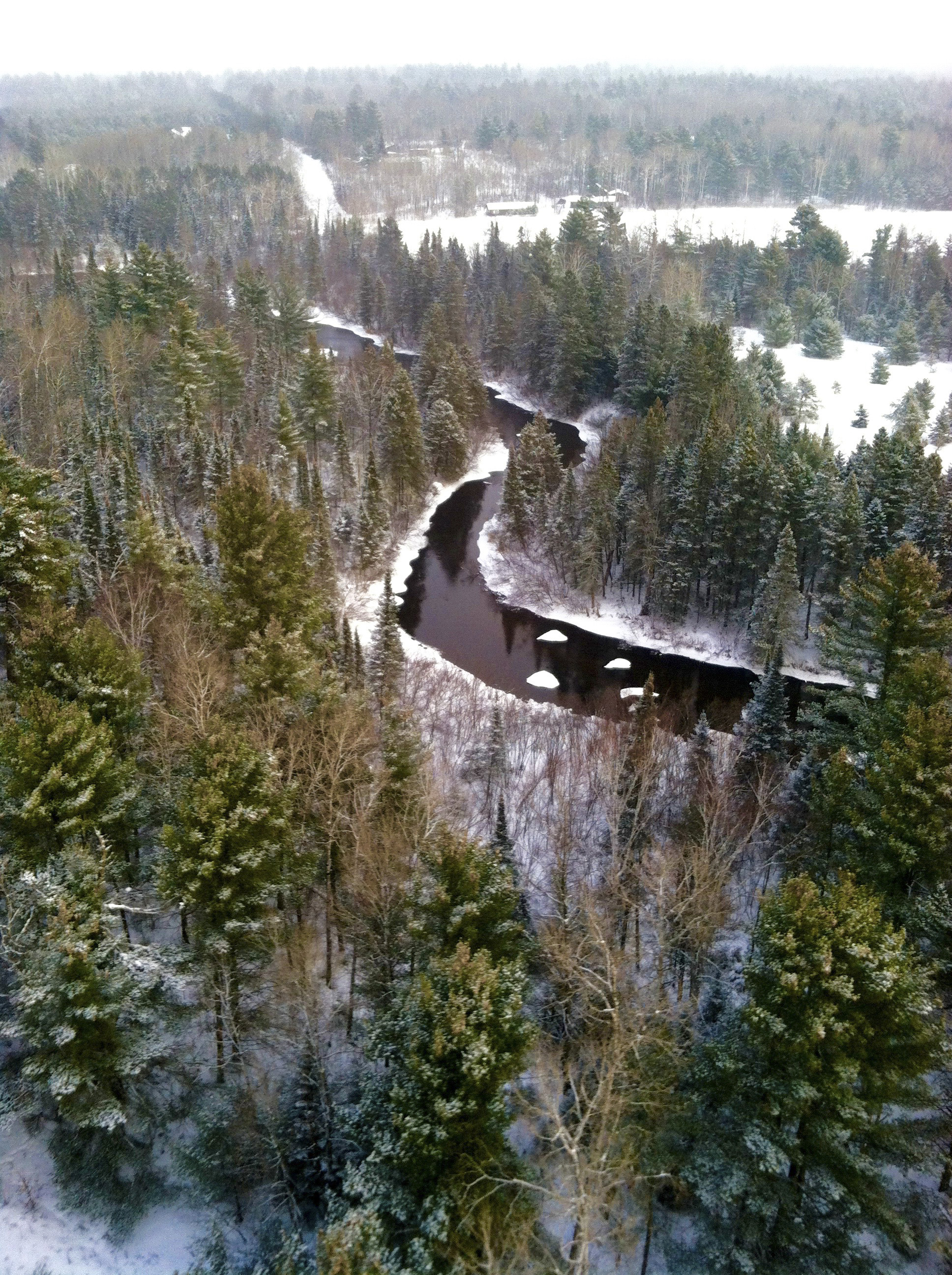 """Wisconsin Winter From the Air"" takes us into the sky again as we marvel at the wonders of winter."