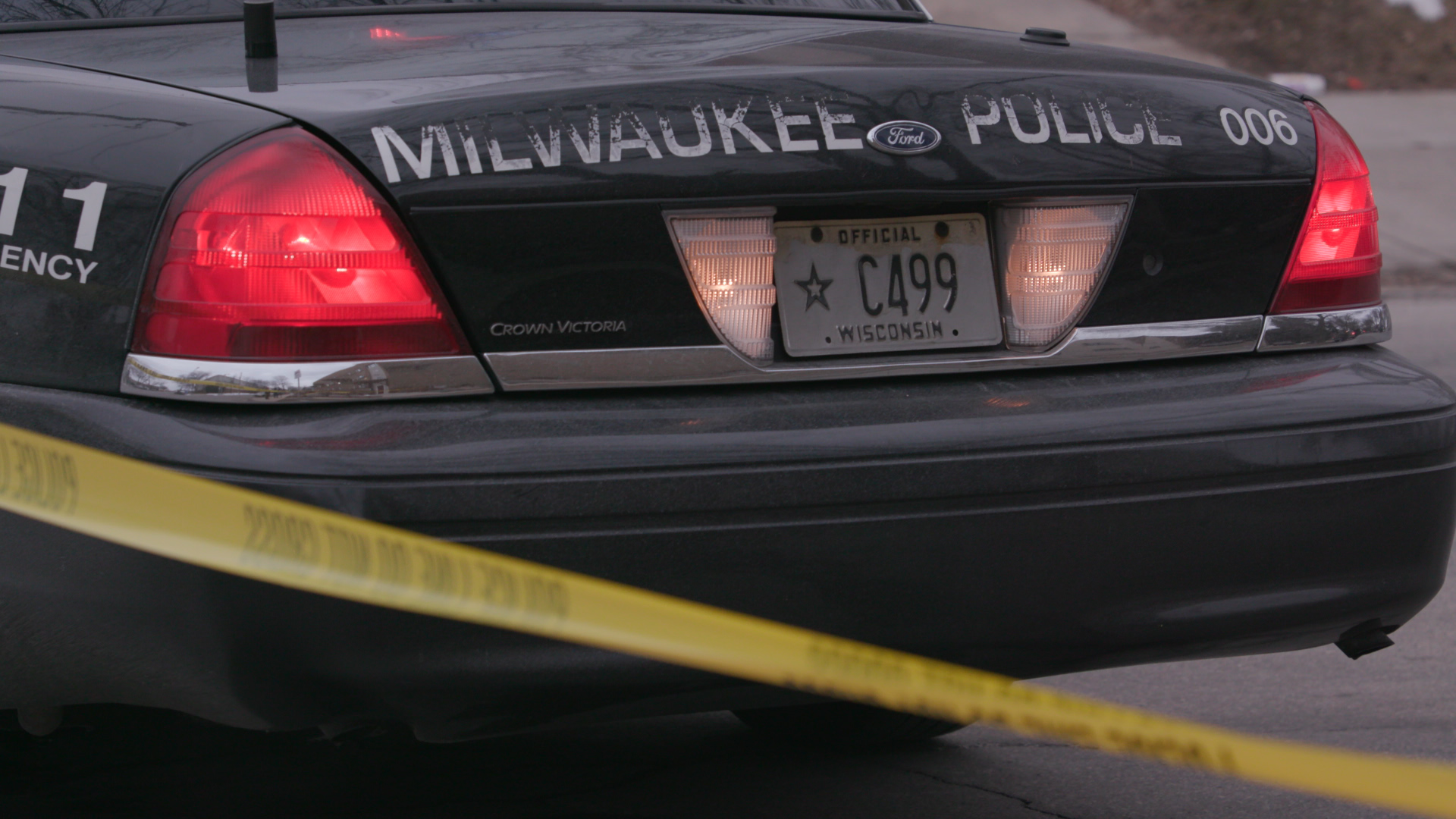 Milwaukee Police respond to the shooting at Molson Coors in Milwaukee Feb. 26,2020.