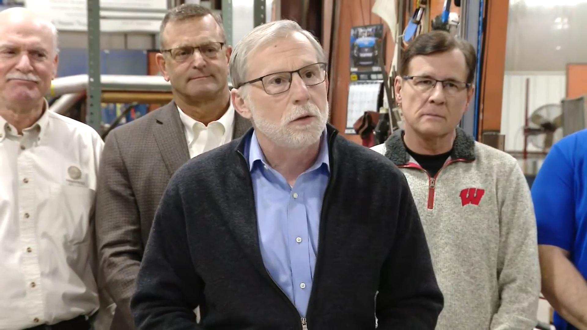 Rep. Mike Rohrkaste announces a GOP tax plan in Kaukauna