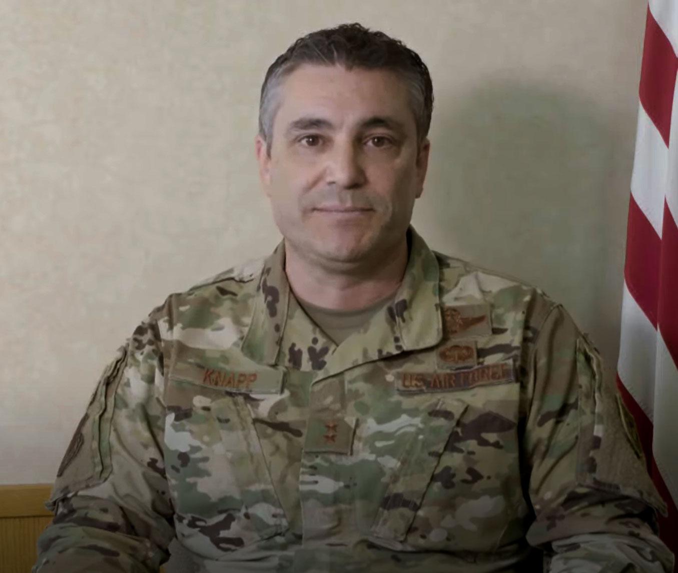 Adjutant General Paul Knapp