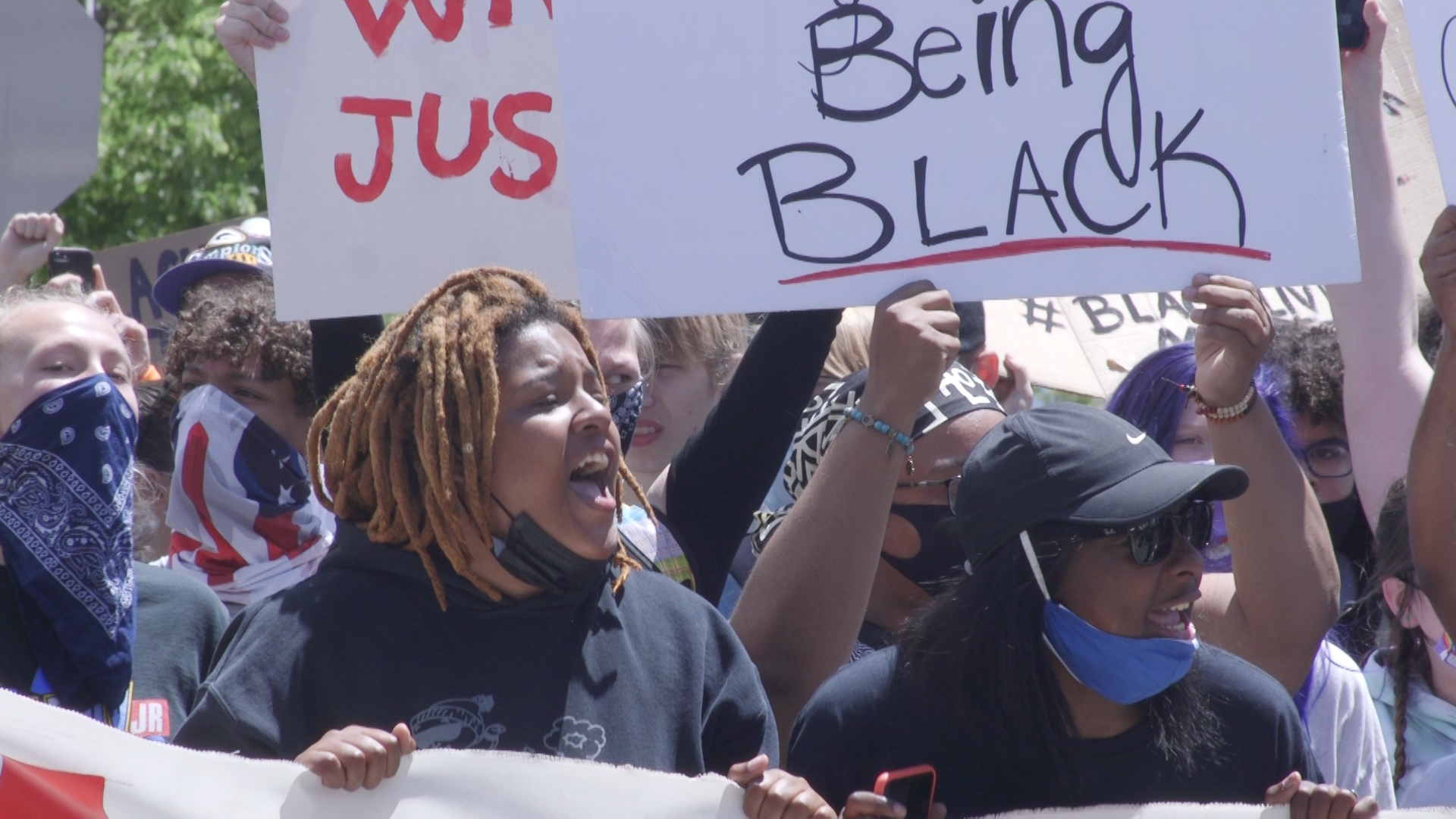Protests Continue Around the State in the Wake of George Floyd's Death